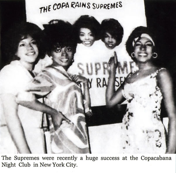 Diana Ross_Supremes At The Copa poster